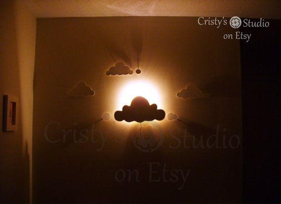 Baby Night Lights Clouds Von Cristysstudio Auf Etsy 39 99 Baby Night Light Baby Night Light Nurseries Night Light