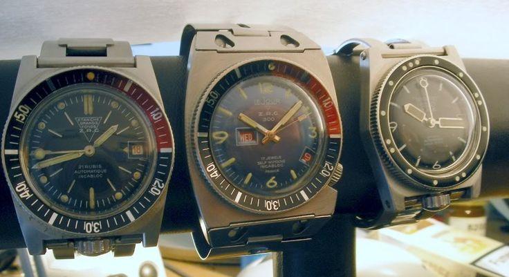 Triton Spirotechnique Dive Watch