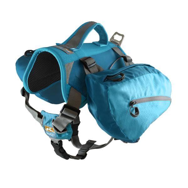 Mochila/Alforja Para Perros Baxter Pack Azul de Kurgo®