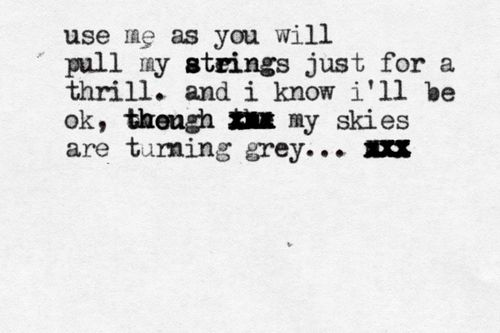 Your Guardian Angel- Red Jumpsuit Apparatus  Submitted by: http://takeovermycontrol.tumblr.com/