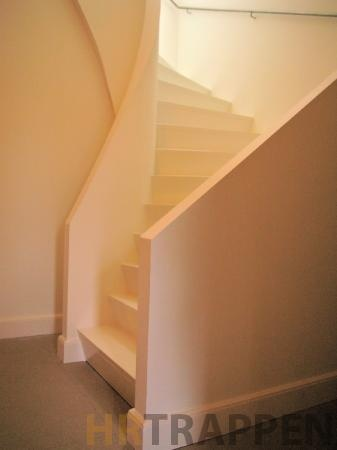 Trap z-design in wit - stair