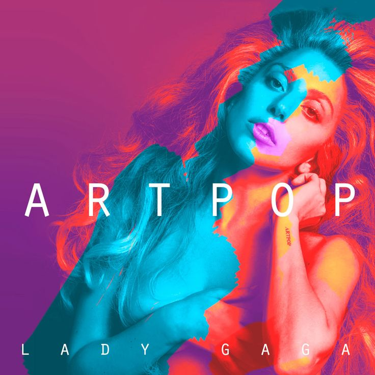 Album cover for the new Lady Gaga's Artpop.