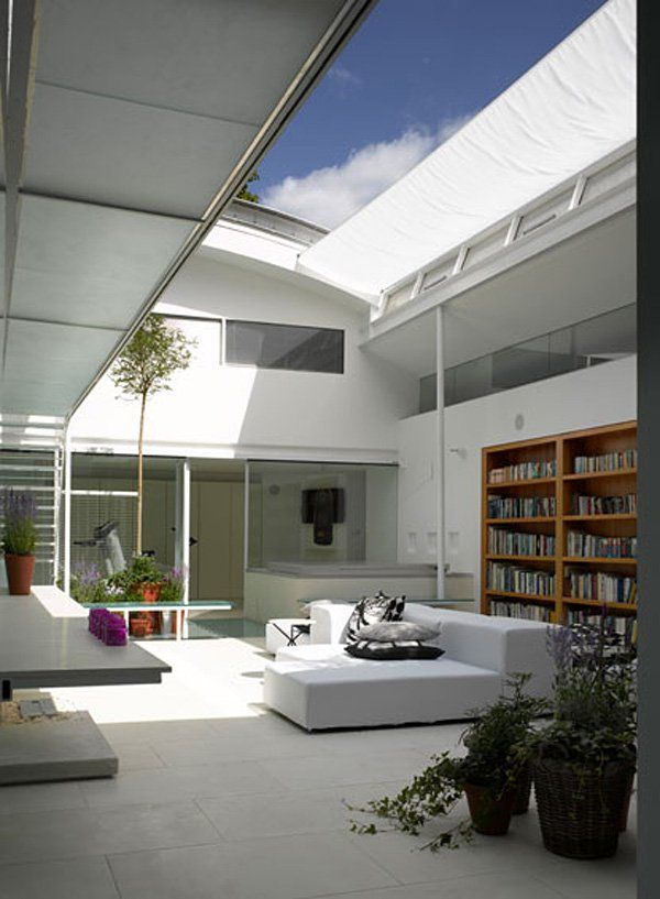 House on Gayton Road has been designed by Paxton Locher Architects in Hampstead Village, London
