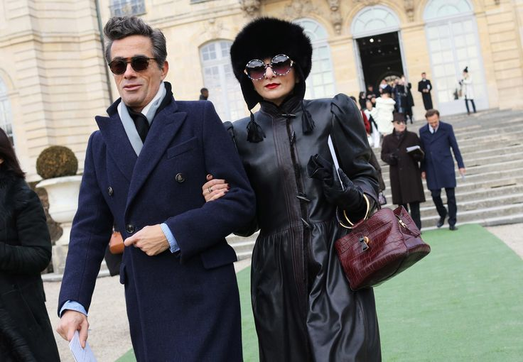 Vincent Darré and Catherine Baba