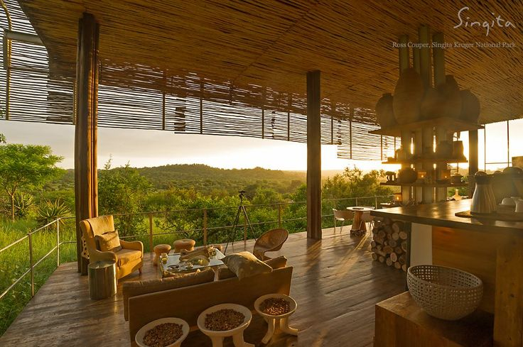 With so few barriers you feel so close to nature at Singita Lebombo Lodge. (Ross Couper, Singita Kruger National Park)