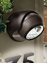 Wireless 6-LED Motion Detector Light- battery powered | Solutions