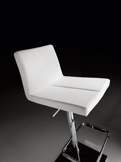 Sgabello King bianco. #stool