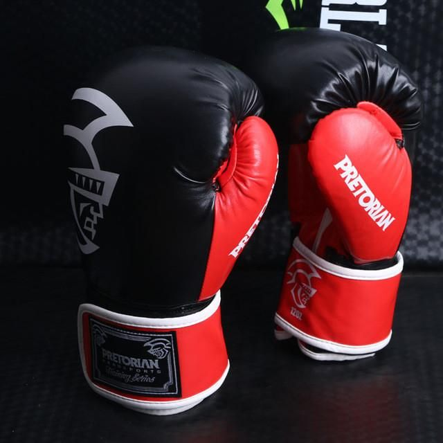 10OZ 12OZ 14OZ PRETORIAN muay thai boxing gloves tkd mma 1pair