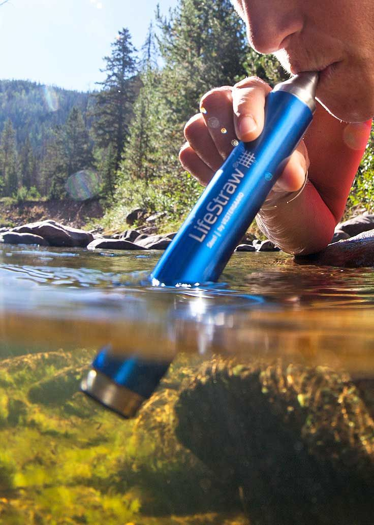 Make contaminated water safe to drink - a real travel essential for campers!