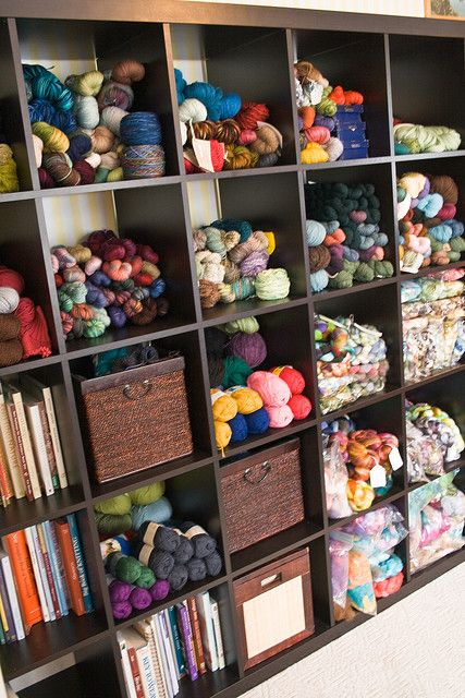 Knitting Supplies Storage Ideas : Yarn stash storage ideas knitting pinterest yarns