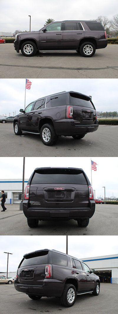 SUVs: 2016 Gmc Yukon 4Wd 4Dr Slt 4Wd 4Dr Slt Suv Automatic 5.3L 8 Cyl Gray BUY IT NOW ONLY: $45988.0