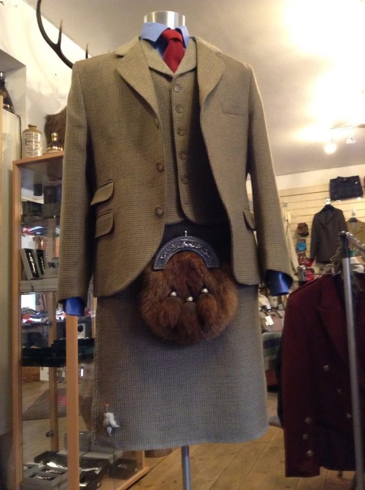 Lovat Tweed 3 Piece Kilt Outfit From Gordon Nicolson