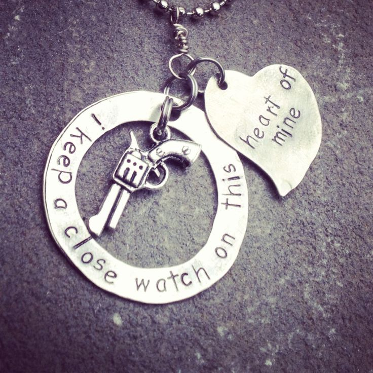 necklace with johnny cash quote