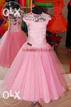 Платье рейтинговое для бальных танцев детское(бейсик) Слов'янськ - зображення 1