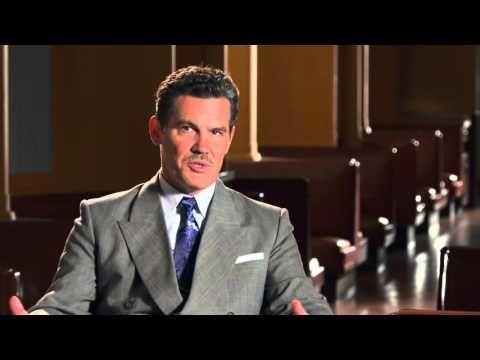 """ScreenSlam: Hail, Caesar!: Josh Brolin """"Eddie Mannix"""" Behind the Scenes Movie Interview"""