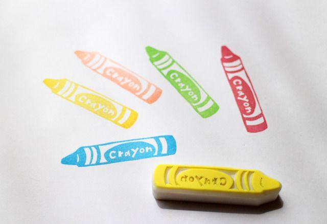 Bf-ako - Crayon Stamp