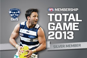 Geelong Cats Club Support Membership Card