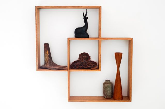 SENKKI FURNITURE 2 Box Meranti Shadow Box | Shelf | Shelves | Home to your beautiful trinkets