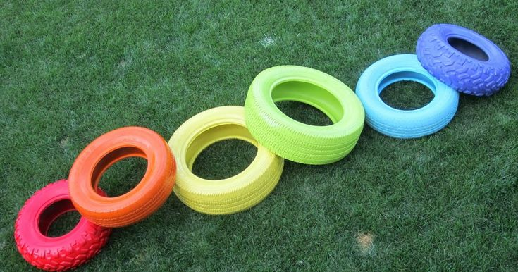 Ben is a huge climber so I thought I would make a fun project that he could climb. I decided to spray paint some tires in fun colours and st...