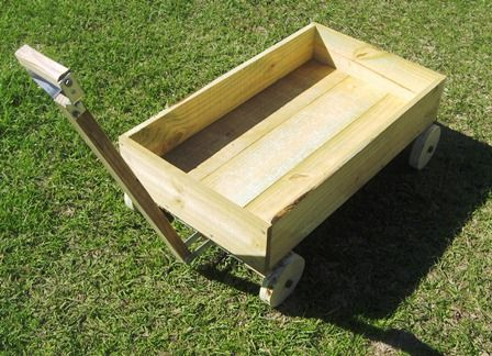 wikiHow to Build Your Own Kids Wagon -- via wikiHow.com