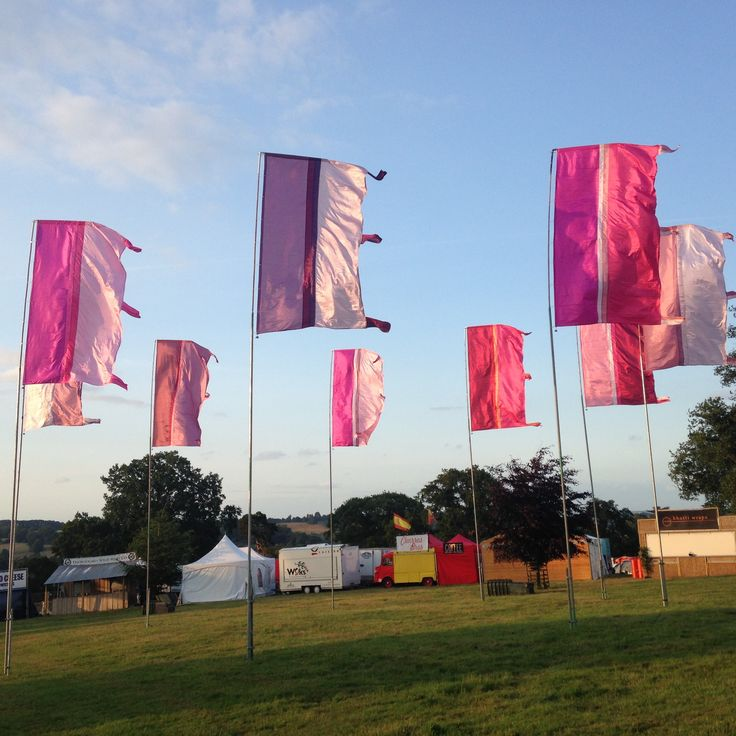 Arena Flags by Event Flag Hire x