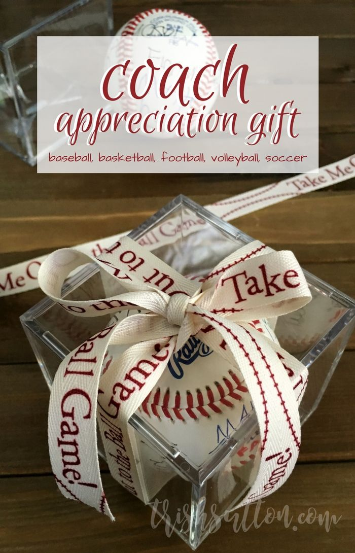 A thoughtful gift that would be great for coaches of any sport with a ball. Coach Appreciation Gift Team Autographed Ball | Baseball, Basketball, Football, Soccer, Volleyball Coach's Gift. http://trishsutton.com/coach-appreciation-gift/