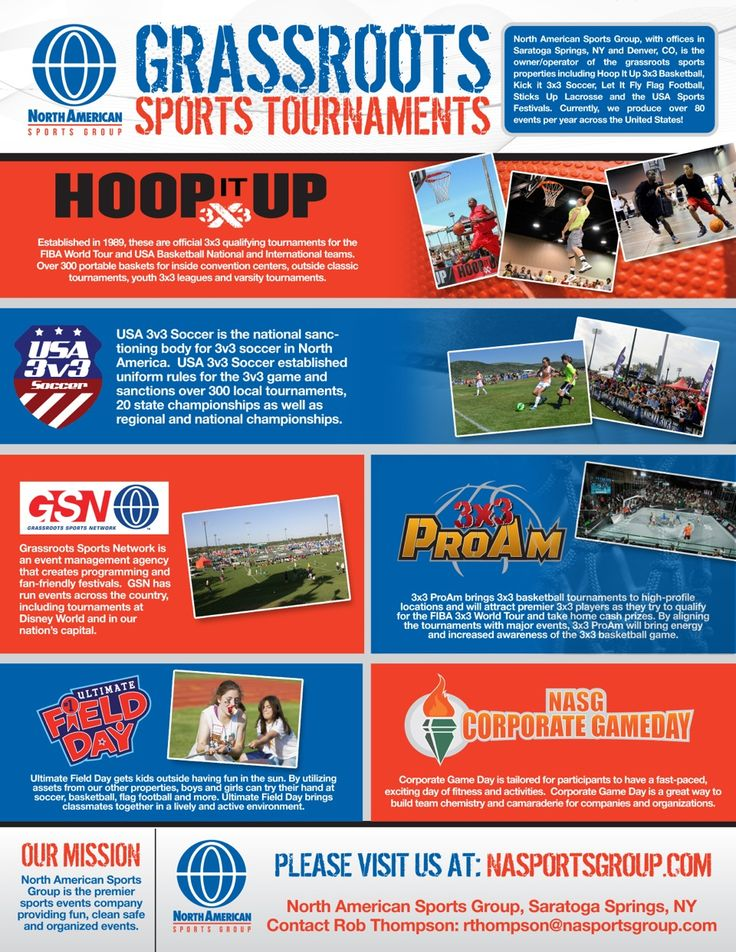 Grassroots Sports Tournaments Handout