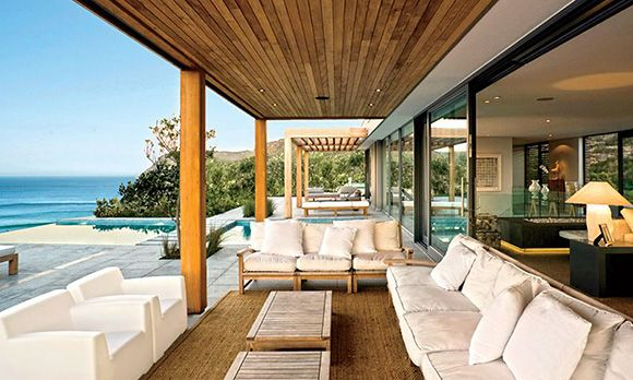 Plettenberg Bay, South Africa   Stats: 6 bedrooms, 6 baths, 21,500 sq. ft.   Stefan Antoni Olmesdahl Truen Architects, an award-winning South African firm, designed this four-story waterfront villa in 2008. Ocean views with direct access to the beach!