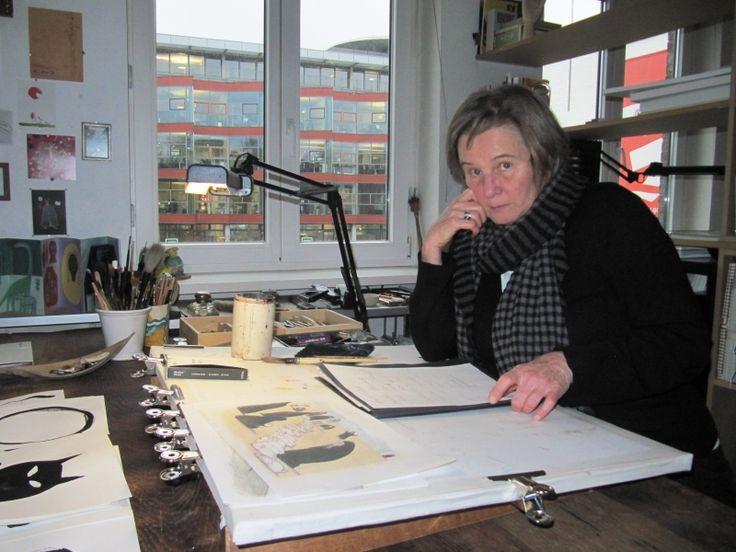 德國重量級插畫家尤塔‧鮑爾(Jutta Bauer) (提供/天下雜誌)