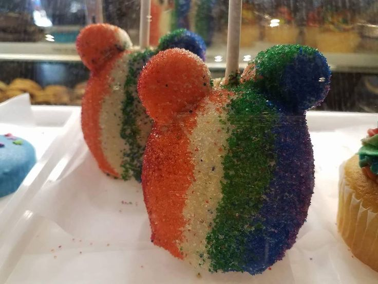 Several limited edition items have been spotted around Walt Disney World this weekend in celebration of Pride Week 2017! Some of the delectable delights for sale at the Candy Cauldron in Disney Springs include specialty rice crispy treats, candy apples, cookie pops, and colorful cupcakes. Also offered at the Candy Cauldron are some great …