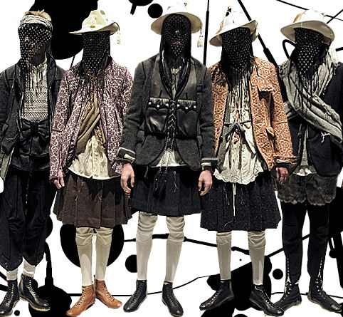 Inspiratie voor middeleeuwse mode