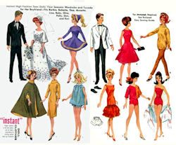 Sewing Pattern for Barbie Doll Clothes - 6420 Link is bad, inspiration only