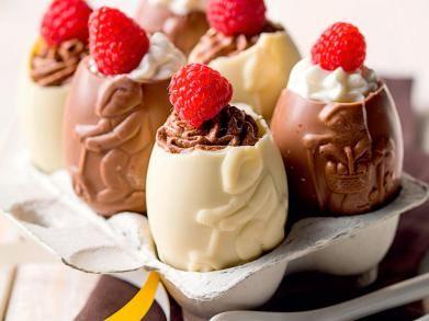 Paaseieren gevuld met chocolademousse | Libelle-lekker.be