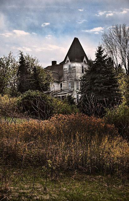 Spooky Chateau by VermontDreams, via Flickr