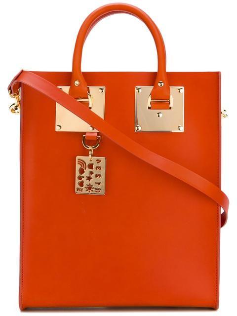 SOPHIE HULME mini 'Albion' tote. #sophiehulme #bags #leather #hand bags #tote #