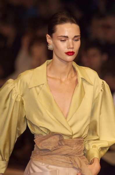 Yves Saint Laurent at Couture Spring 2001 - Livingly