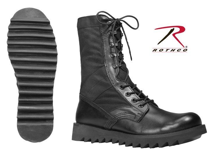 Rothco Black Speedlace Black Jungle Boot
