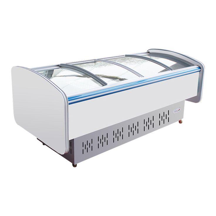 Lecon медные блюда витрина для хранения горизонтальной холодильник морозильник шкаф украсить LC-PCG01