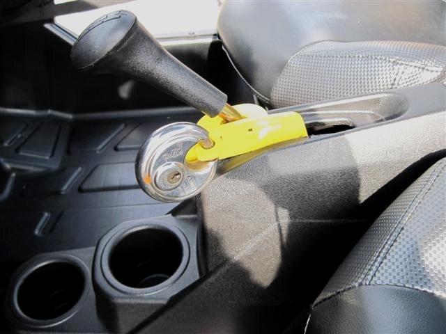 Polaris RZR Anti Theft Shift Lock