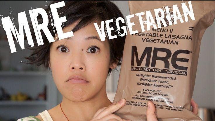Vegetarian MRE Menu 2: Vegetable Lasagna - tasting a Meal, Ready-to-Eat