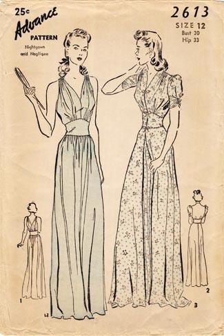 Vintage Lingerie Pattern