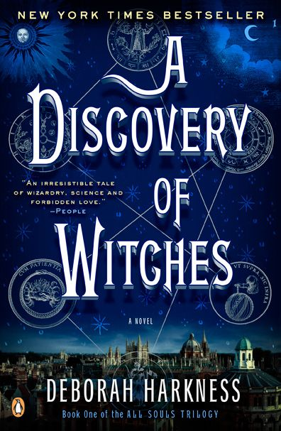 A Discovery of Witches on http://deborahharkness.com/discovery-of-witches/ Could not put this down!!!!
