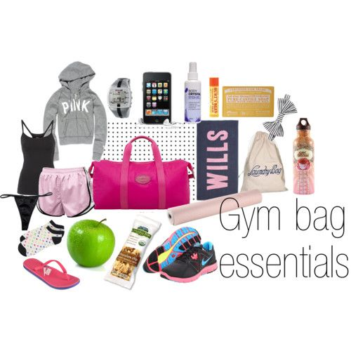 gym bag essentials for women | Gym Bag Essentials2