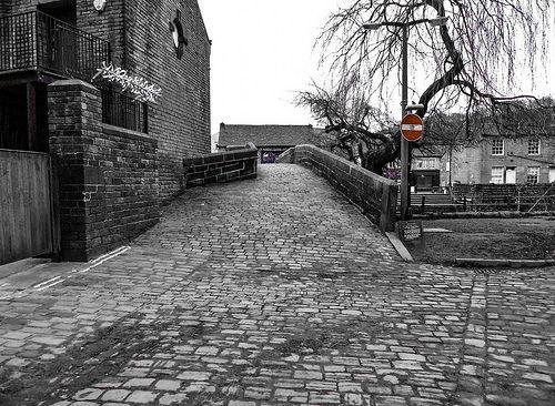 Colin Green Photography: Hebden Old Bridge, Calderdale.