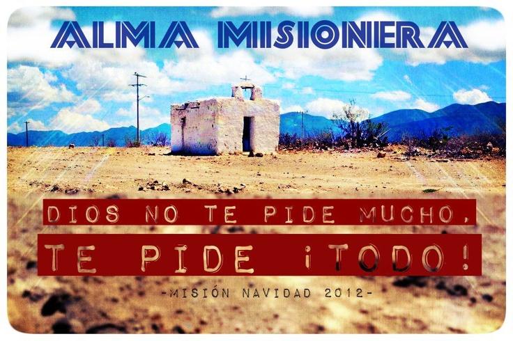 PORQUE YO TENGO ALMA MISIONERA!!: Alma Misionera, Yo Tengo, Tengo Alma