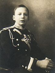 Prince Igor Constantinovich of Russia (1894 – 1918), was the son of HIH Grand Duke Constantine Constantinovich of Russia and his wife Elisaveta Mavrikievna née HH Princess Elisabeth of Saxe-Altenburg. Igor attended the Corps des Pages, an imperial military academy in Saint Petersburg. He enjoyed theatre. He was brutally murdered by the Bolsheviks along with his brothers & cousins in 1918 in a mineshaft near the town of Alapaevsk