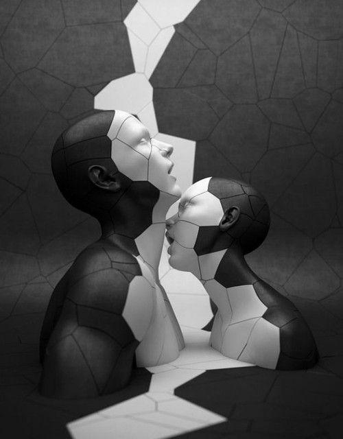 The divisions of pleasure by Adam Martinakis.