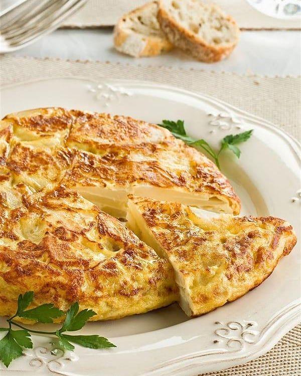 Tortilla De Patatas Súper Light Ingredientes 4 Huevos 600 G