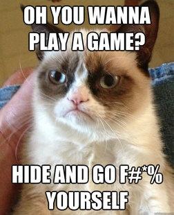 I <3 Grouchy Cat!