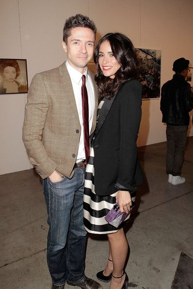 """Abigail Spencer Photos - Actors Topher Grace (L) and Abigail Spencer attend The Art Of Elysium's 6th annual """"Pieces Of Heaven"""" powered by Ciroc Ultra Premium Vodka at Ace Museum on February 20, 2013 in Los Angeles, California. - The Art Of Elysium's 6th Annual Pieces Of Heaven Powered By Ciroc Ultra Premium Vodka"""